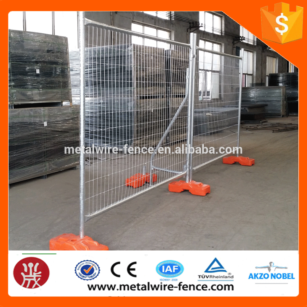 AU Temporary security fencing mobile temporary fence