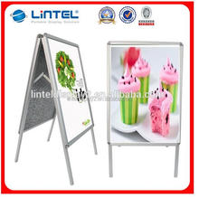 A board double side display board stand seller