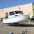 2017 large aluminum fishing boat 23ft aluminum cabin boats with hardtop