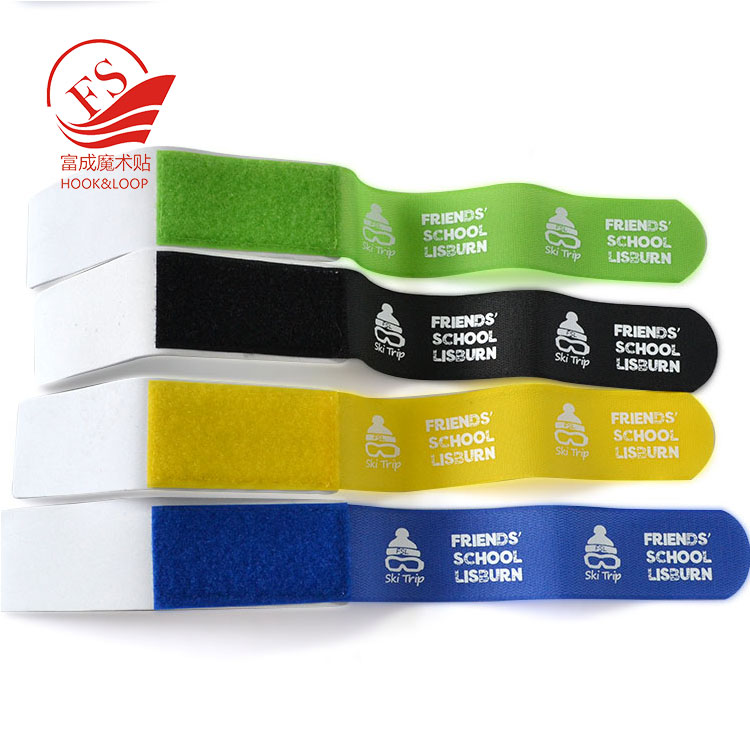 China  manufacturer  nylon hook and loop ski knee board strap