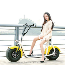 Ailbaba China Popular Fat Tire Cheap Electric Motorcycle Scooter for Adults
