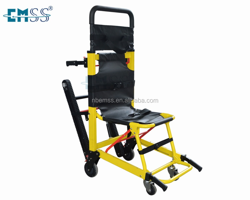 one man operatable disabled carry chair for stairs