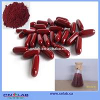 GMP Coenzyme Q10 monacolin k (lovastatin) in red yeast red rice red capsules