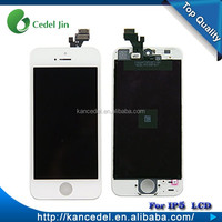Replacement lcd screen parts display assembly for iphone 5 touch screen digitizer