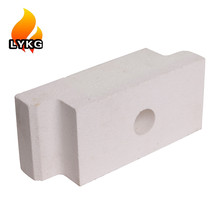 70%, 75% 80% Good chemical erosion resistance high alumina refractory bricks for EAF roof refractory brick linings