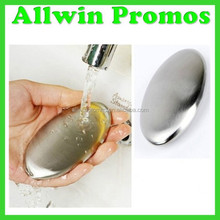 Huge Oval Stainless Steel Soap for Promotion