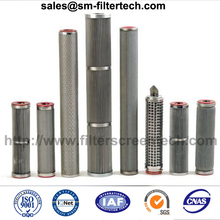 Trade assurance hot sell stainless steel hydraulic Parker oil filter element