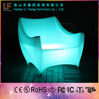 Flashing with atmosphere ktv LED single sofa /china factory price supply LGL63-9001
