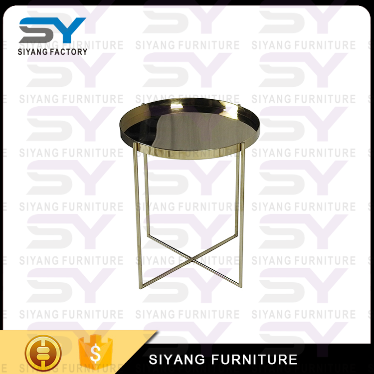 Design furniture round metal side <strong>table</strong> for sale JJ004