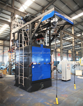 competitive Price machines and equipments:q37 hanger type sandblasting machine