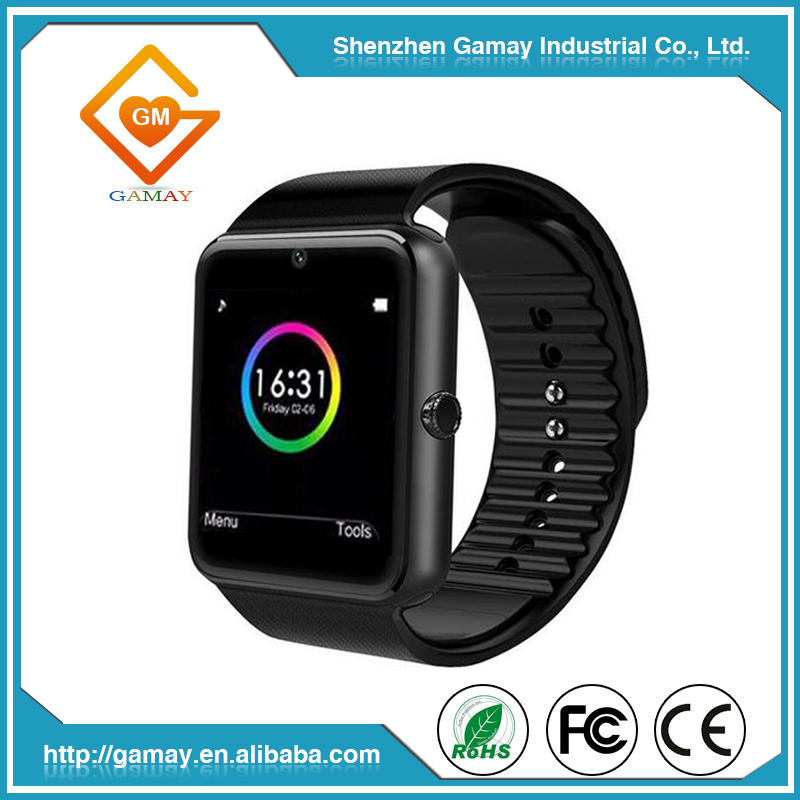 Hot Selling Pedometer Clock GT08 Smart Wrist Watch Phone Android Wrist Watch