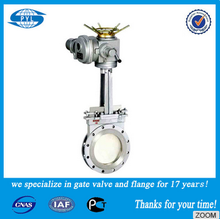 ductile iron 3inch automatic knife gate valve with price