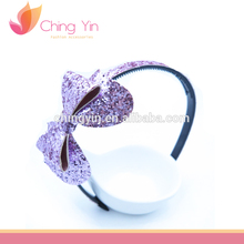 Fashionable Girls Glitter Bow shimmer Hair Accessories Headband