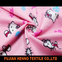 Pink kitty cat painting designs fabric cloths for women