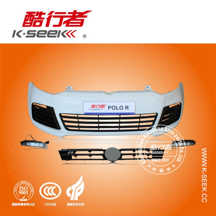 R Style Body Kit For VW Polo Front Bumper Assy