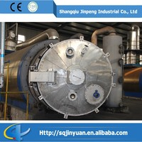 High Profit Low Cost Rubber Scrap to Furnace oil, Used Tire Disposal and Recycling Pyrolysis Plant