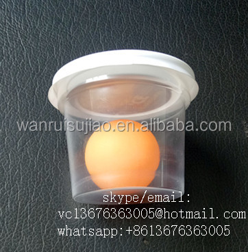 150ml PP dessert Cup with lid/ disposable plastic cup with Lid
