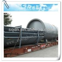 oil &carbon black extracting equipment form waste tyres/plastics