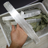 natural rough raw selenite crystal mineral rock stone specimens for sale