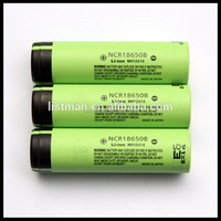 Wholesale original Li-lon NCR18650B 4.2V 3400mAh rechargeable battery 18650 battery