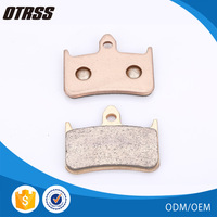 New made chinese sintered brake pad motorcycle spare part brake shoe lining