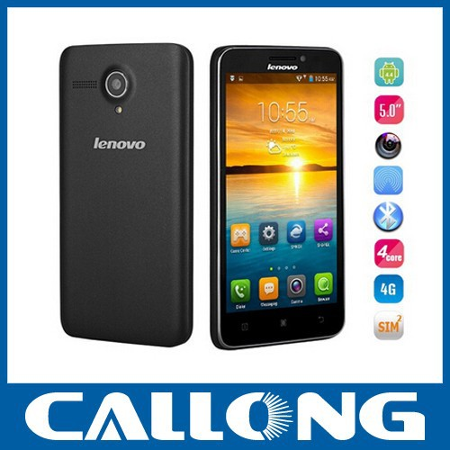 New cheap Lenovo A606 mobile phone 5.0 inch Quad Core Android 4.4 cellphone unlocked 4G LTE smartphone with OTG