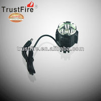 2013 new arrival ! TrustFire D011 bicycle flashlight 3 XM-L 2 led light 2100lumes bike light with mobile power+ charger one set