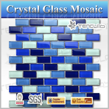 new arrival glass mosaic swimming pool tiles