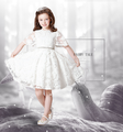 lace flower girl dress design scoop neckline sleeveless sexies girls in hot night dress ED779