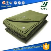 760gsm waterproof canvas fabric canvas roof material