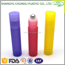 own brand new product 10ml cosmetic packaging empty plastic bottle perfume roll on bottles