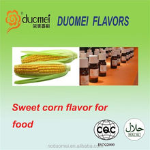 Sweet corn flavouring food flavor concentrate