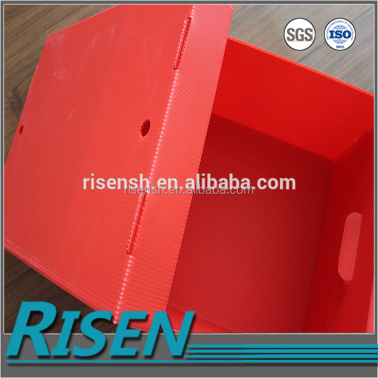 Plastic Corflute Storage Box with Lid
