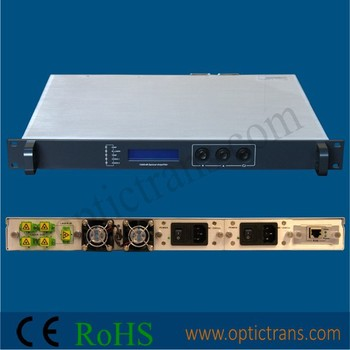1550nm EDFA Erbium Doped Fiber Amplifier 13~27dB/EDFA (OPA-1550P)