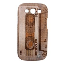 Split Type Black Walnut Wood Cover Case for Samsung Galaxy S3 i9300