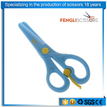Child use safety plastic scissors for kids