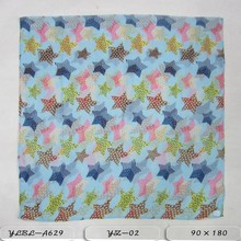 2015 newest design novel fashion geometric figures design and voile scarf polyester scarf for lady