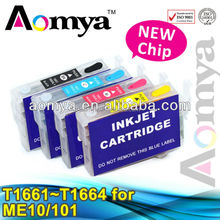 refillable ink cartridge T1661-1664 for Epson ME-101
