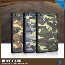 camouflage design belt clip shockproof case for ipad mini hard back cover anitdrop