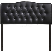 Elegant Classic Antique French Style Luxurious Upholstered Tufted Bed Headboard