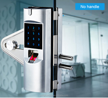 High grade remote control digital outdoor glass fingerprint electric gate lock