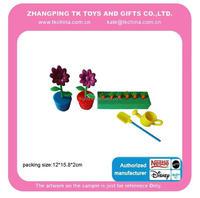 preschool educational toys garden play set plant pot flower & carrot
