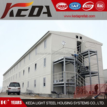 Three Storeys Modular House Combined Container Office Building