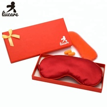Delicate Silk Sleep Mask With Gel Eye Mask Insert