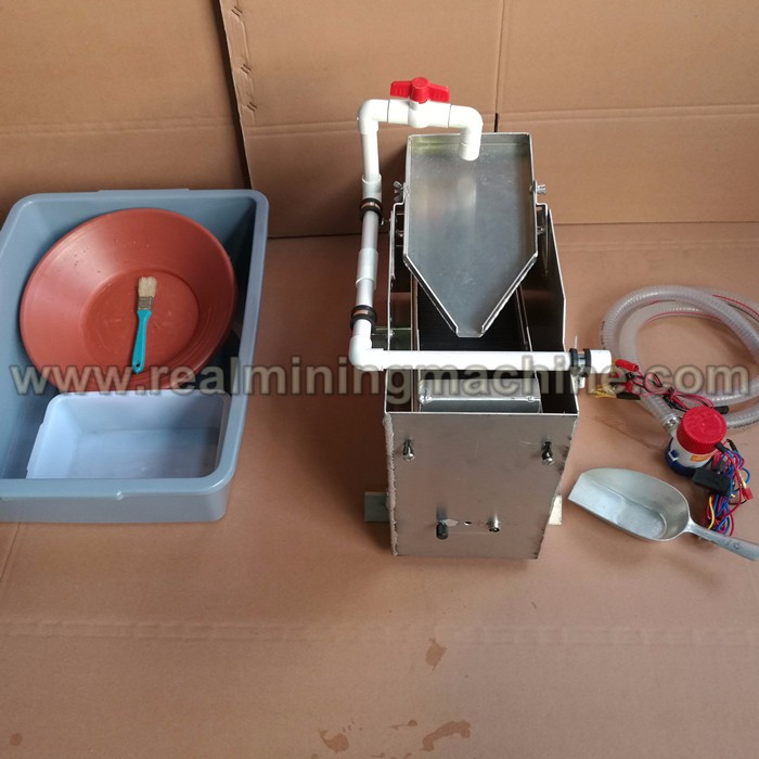 High efficient gold separating ultra fine gold recovery machine