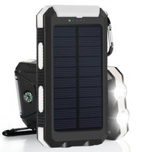 PowerGreen Wholesale Solar Charger 10000mAh Solar Power Bank With Double Outputs