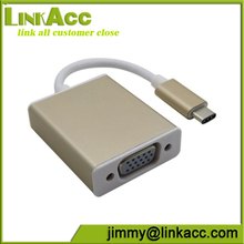 Linkacc-jm-u1 USB 3.1 type C to VGA Cable for PC Notebook