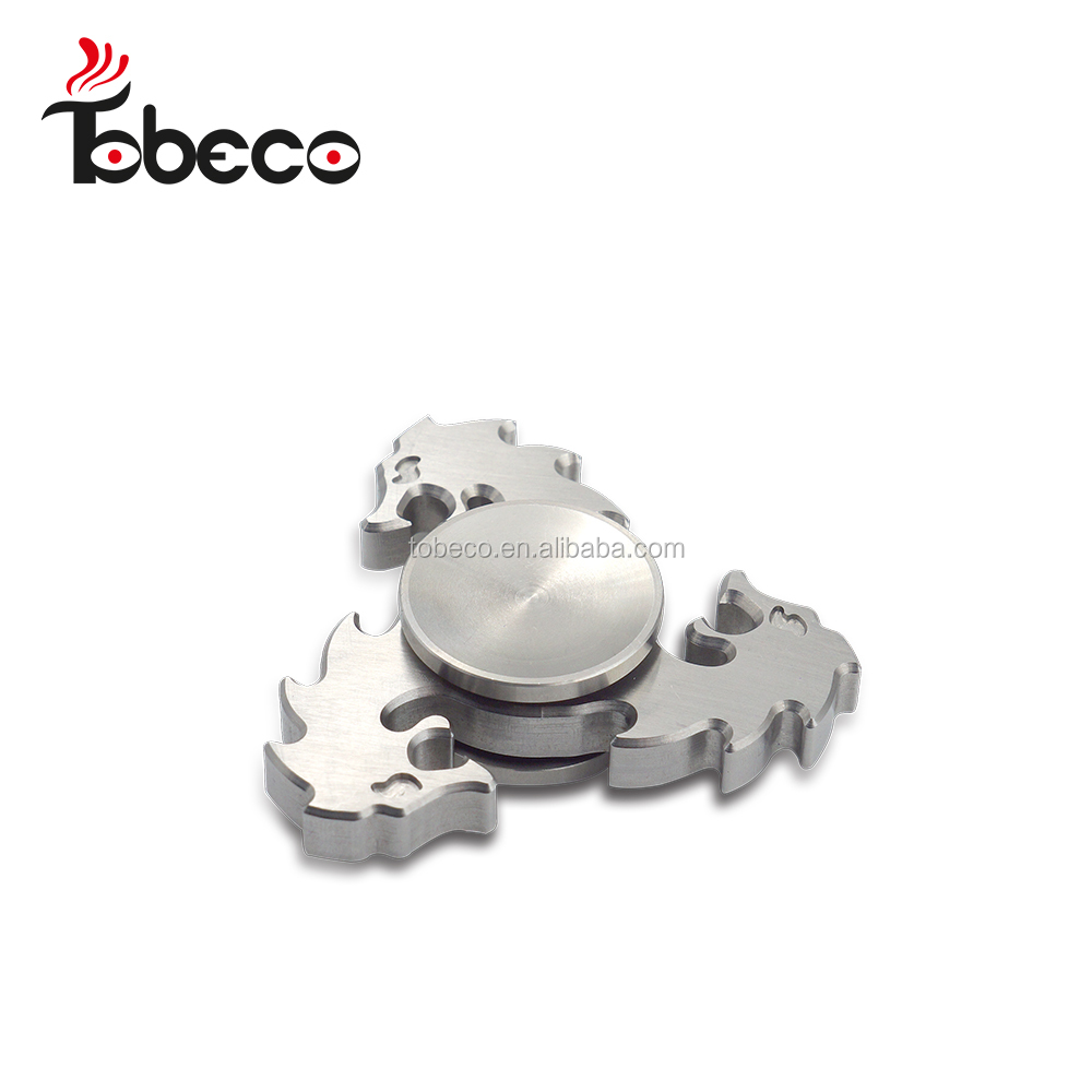Newest and Unique design tobeco spinner dragon shape tri spinner