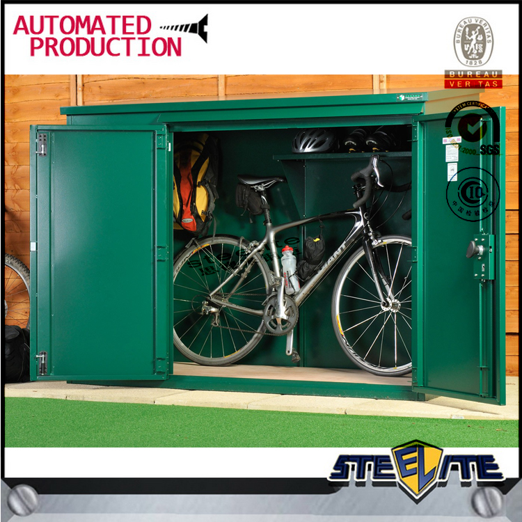 Hot sale Diy products lifetime outdoor bike storage shed