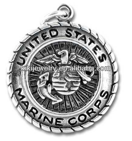 fashion USA Marine Corps charm wholesale jewelry